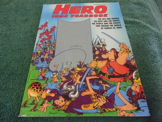 1994 HERO Annual Comic Book Yearbook