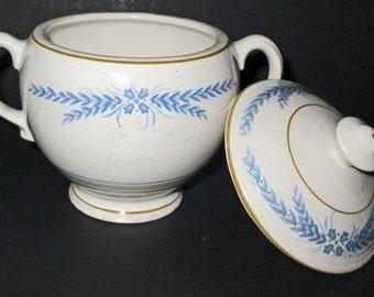 Vintage Sheffield Sugar Bowl w/lid