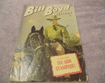 1951 Bill Boyd Western Comic Book no.19 vol.4- Six Gun Stampede