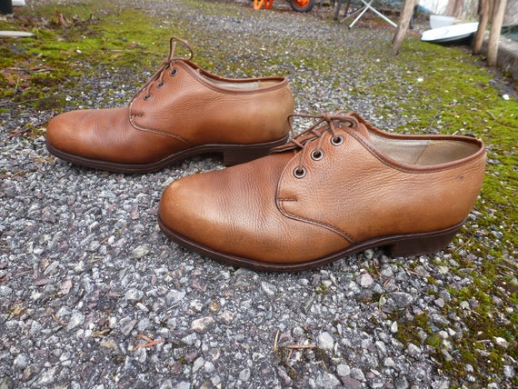 1940's genuine leather shoes