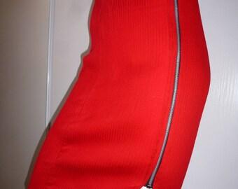 vintage Red skirt 50'