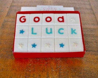 Good Luck Message Cake