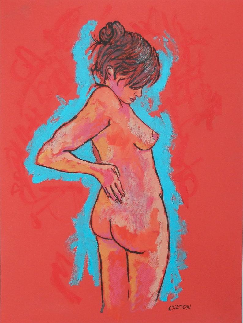 Akt der Nacktkunst Klasse