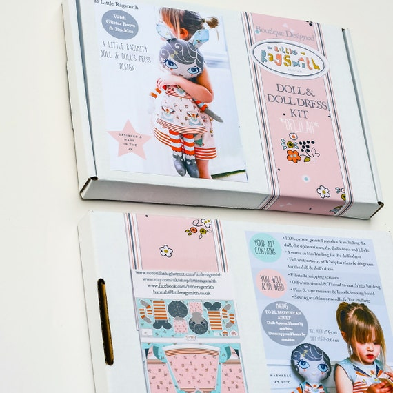 Patrón de muñeca coser kit Diy suave juguete-muñeca de | Etsy