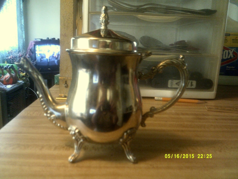 Silver Plated Teapot