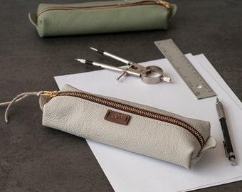 pencil case leather