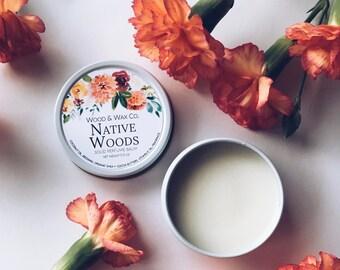 NATIVE WOODS Solid Perfume | Natural Perfume Balm