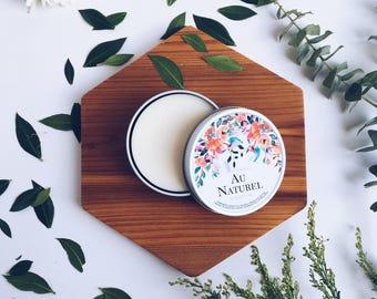 AU NATUREL Solid Body Bar | Natural Body Bar | Natural Solid Lotion Bar