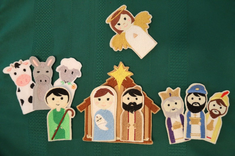 ON SALE Special Edition Nativity Finger Puppets