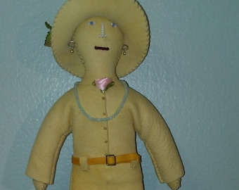 Buckskin Old West Doll named Ida Hoe