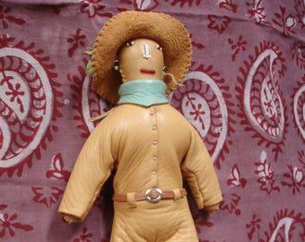 Old West buckskin doll named Hester