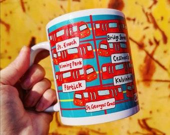 Glasgow Subway Mug
