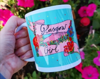 Glasgow Girl Banner Mug