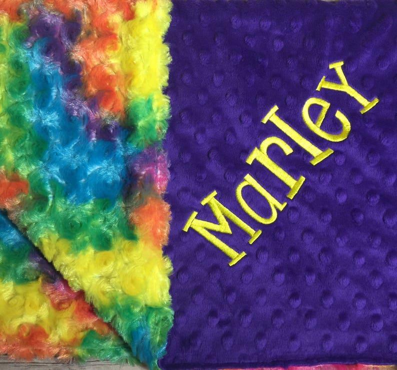 e8d405ed3 Rainbow Baby Blanket Rainbow Tie Dye Blanket Rainbow Adult