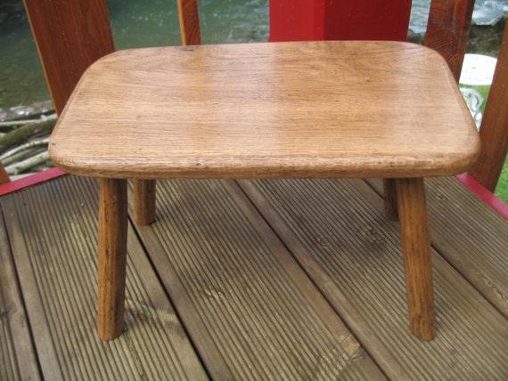 Welsh Oak Wooden Country stool