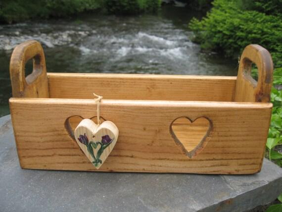 Pallet Wood Heart Box