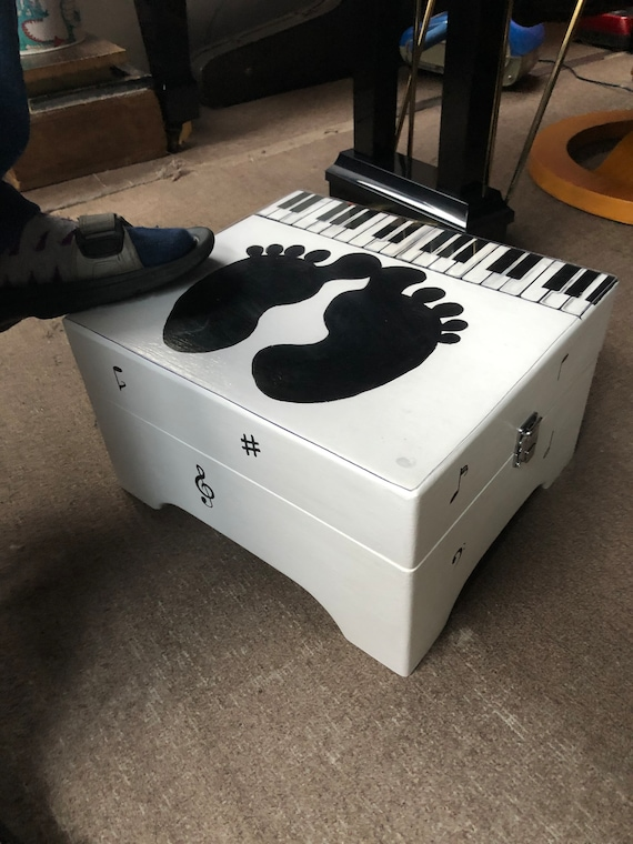 Pianist Piano Players / Piano lovers foot rest box