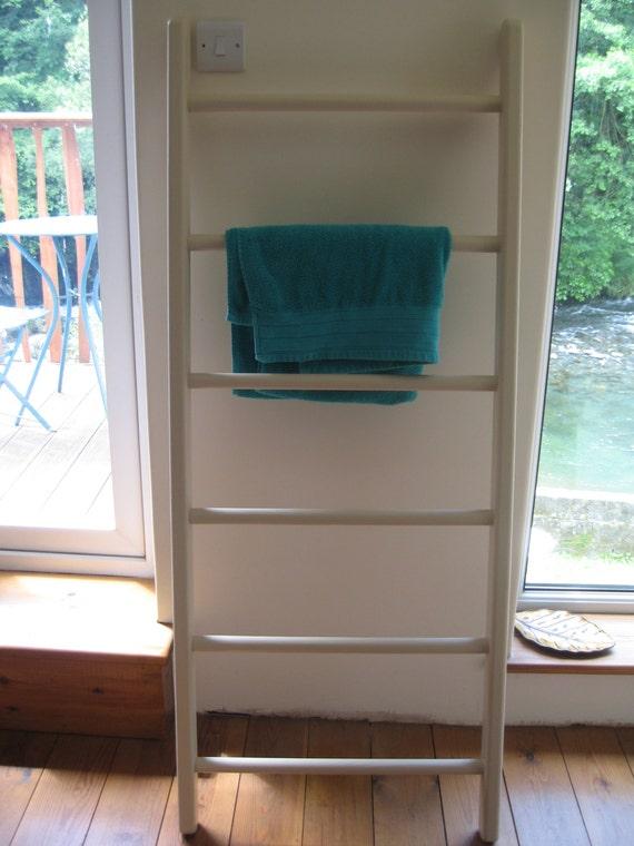 Wooden Ladder Towel Rail