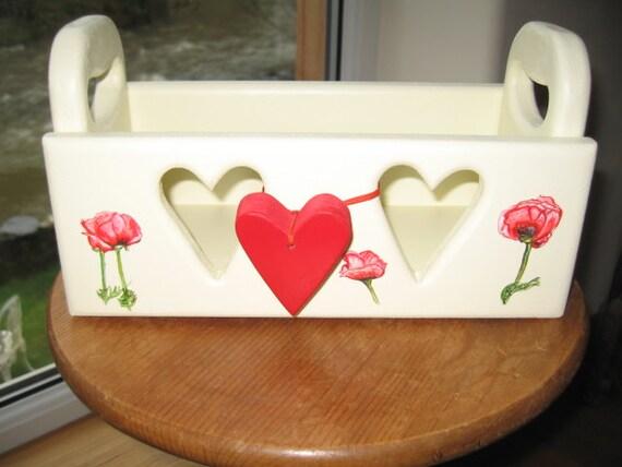 Poppy heart box