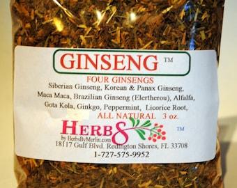Four Ginseng Tea Herbal Blend