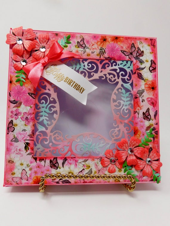 Birthday Card Gift Box Handmade