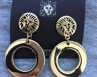 Anne Jesus Jewelry Catholic Saint Religious Earrings  St