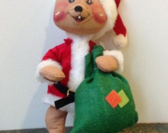 annalee christmas santa mouse - Annalee Christmas Decorations