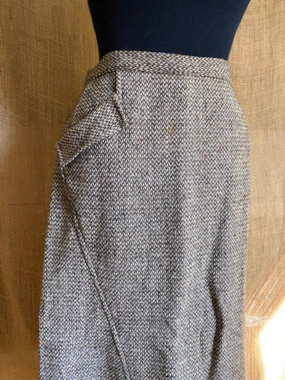 Vintage 1940's Wool Skirt