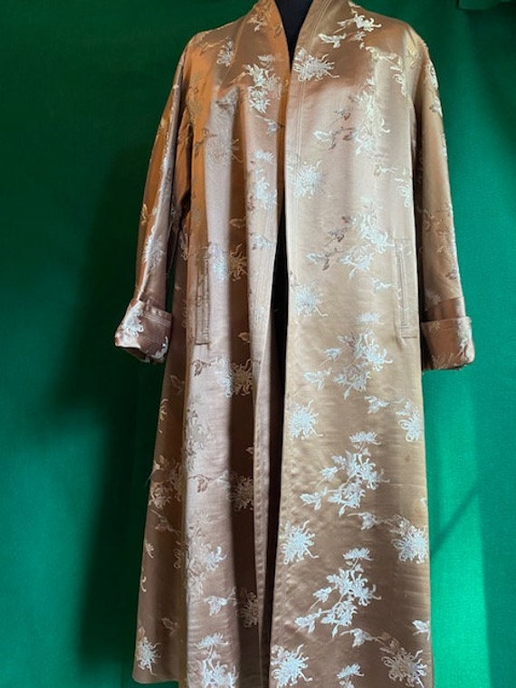 Vintage Chinese Silk Jacket Reversible
