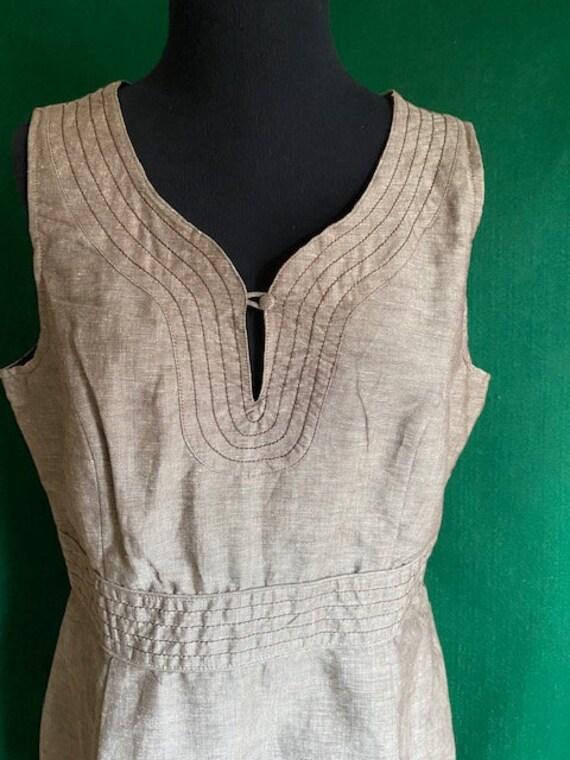 Willi Smith/ WilliWear Designed Linen Dress