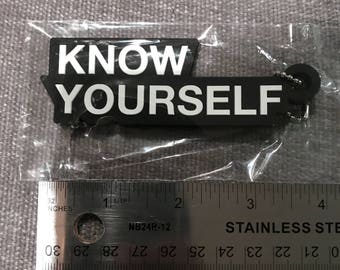 0f12dba5 Drake october's very own know yourself keychain