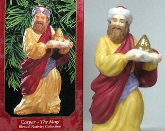 Myrrh Gifts for a King Blown Glass 1998 Hallmark Ornament QBG6893
