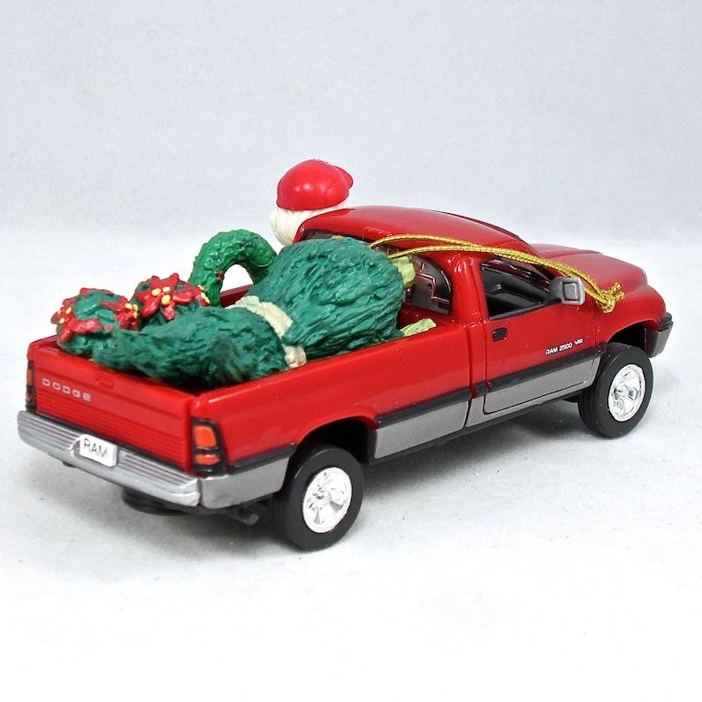 Enesco Dodge Ram Truck Treasury of Christmas Ornament Santa Landscaper Nursery Gardener Chrysler Vintage Car NIB