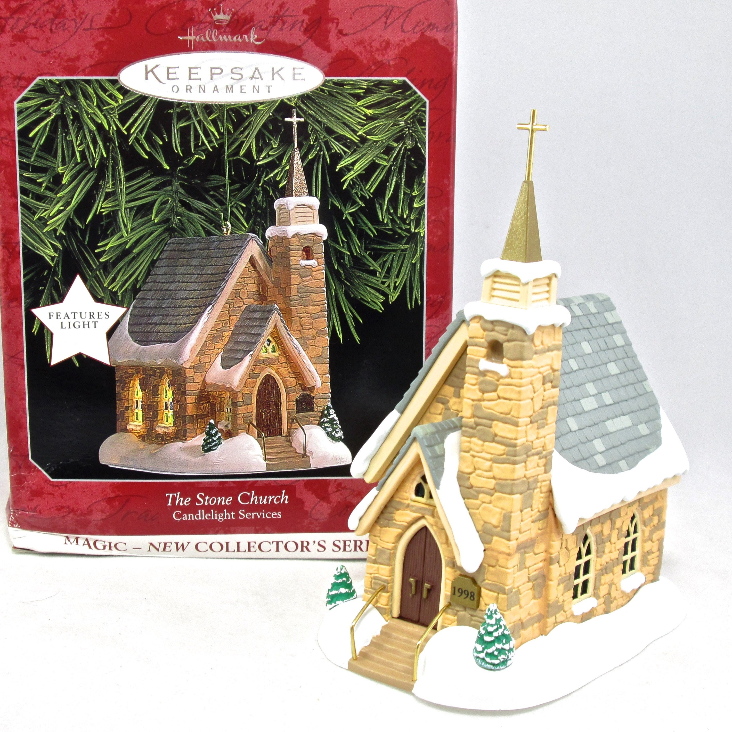 Candlestick 2014 Hallmark A CHRIS MOUSE CHRISTMAS Ornament
