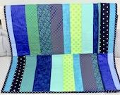 Baby Quit, Modern Baby Quilt, Handmade Baby Quilt, Baby Gift, Newborn Gift, Baby Shower Gift.