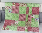 Christmas Quilt, Handmade Holiday Quilt, Holiday Quilt, Baby Quilt, Christmas Gift, Baby Christmas Gift, Baby Christmas Quilt, Toddler Gift,