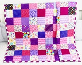 Baby Quilt, Handmade Baby Quilt, Modern Baby Quilt, Baby Gift, Newborn Gift, Holiday Baby Gift, Baby Shower Gift, Modern Quilt.