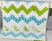 Baby Quilt, Handmade Baby Quilt, Modern Baby Quilt, Baby Gift, Newborn Gift, Holiday Baby Gift, Baby Shower Gift, Modern Quilt