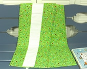 Growth Chart, Fabric Growth Chart, Homemade Growth Chart, Green Growth Chart, Baby Gift, Toddler Gift, Parent Gift, Holiday Baby Gift