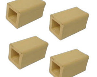 """Kiln Posts-1/2"""".1"""",4""""-Lot of 1 Post-Kiln Furniture-Kiln Supplies-Kilns-Fused Glass Tools-Kiln Posts"""