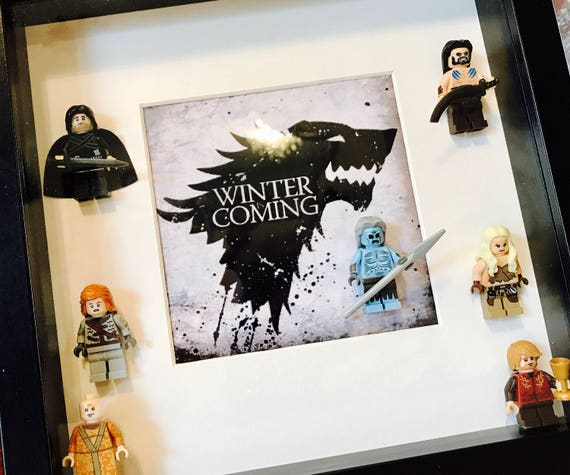 Game of Thrones Gift Frame. Unique Game of Thrones Gift. Game | Etsy