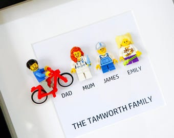 Lego® Family Frame - Personalised by you!