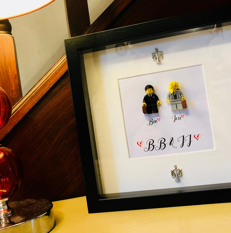5fec07e8a77 Lawyer Gift Personalised Lego® Frame. Law graduate gift.