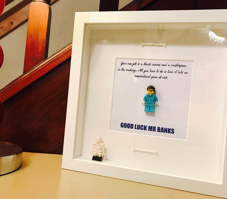 ff067822002 Doctor Gift Personalised Lego® Frame Also a great nurse