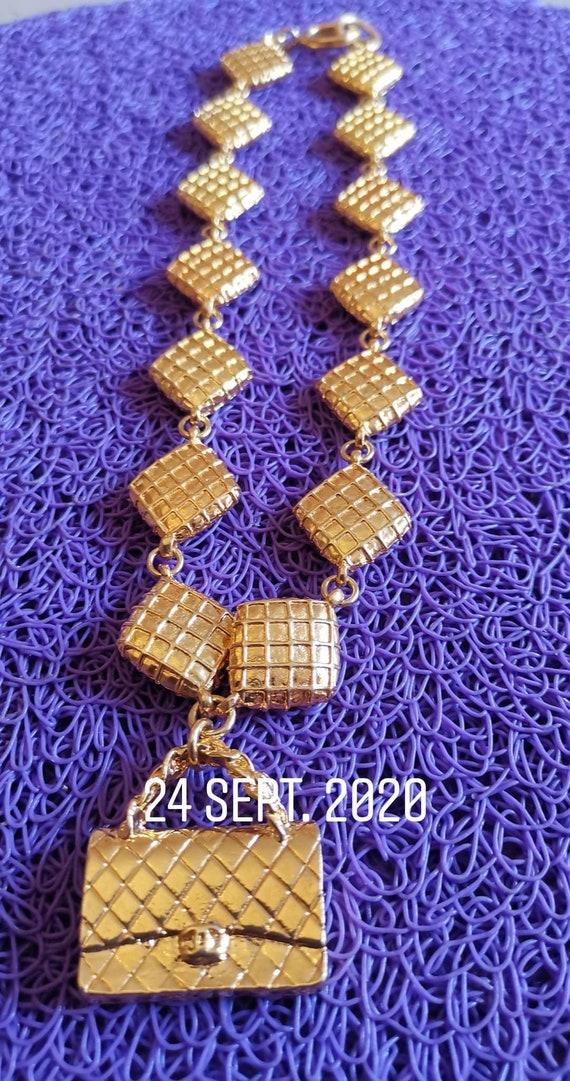 Vintage chanel necklace dore