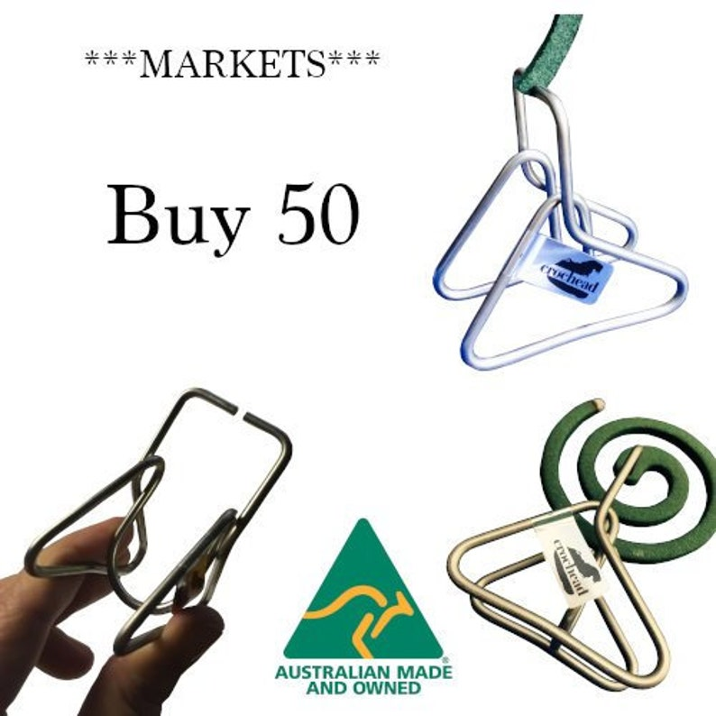 Market Resellers - Buy 50 - Crochead Mosquito Coil Holder Solutions