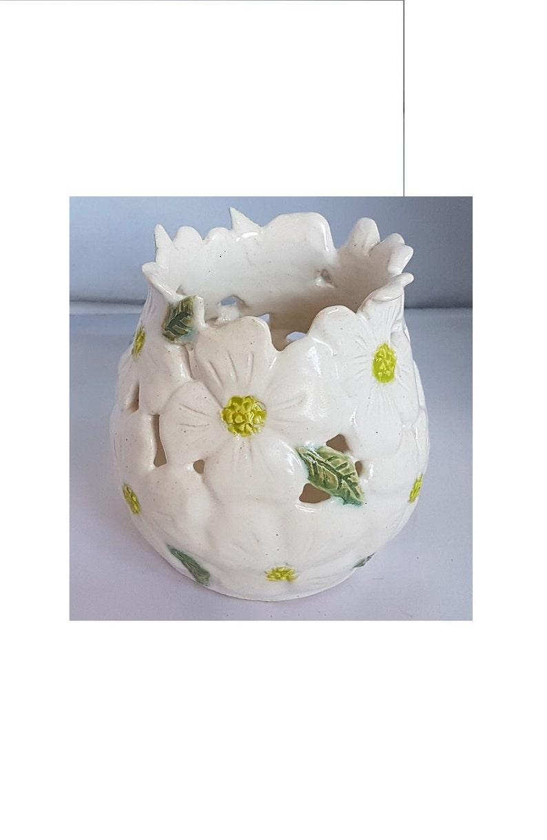 A Vaso Intagliati Gorgeous Fiori InEtsy Corniolo Mano Bianco POXukZi