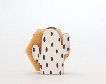 Cactus Lovers-Sponge Holder-Napkin Holder-Small Gift