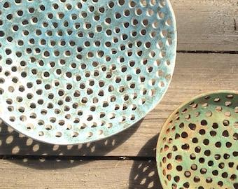 Large Fruit Bowl-Ceramics And Pottery