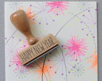 Stamp Happy New Year